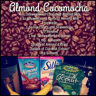 shakeology, cafe latte shakeology, healthy coffee recipe, clean eating coffee, 21 day fix coffee recipe, cafe latte recipe, almond cocomocha