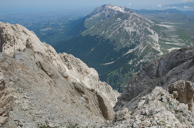 Corno Grande in Gran Sasso Abruzzo
