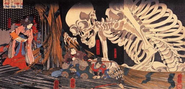 Truyền thuyết thành thị về Gashadokuro của Nhật bản