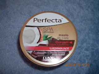Prefecta: Masło do ciała czekolada i olejek kokosowy