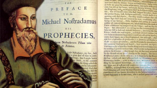 Nostradamus: His Top 10 Prophecies for US In 2016