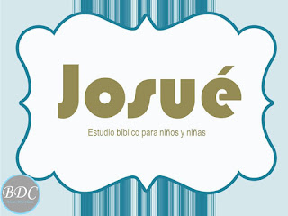 Diario de estudio para niños del libro de Josué