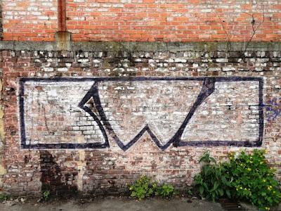 Tags et graffitis à Liège