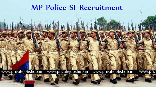 MP Police SI Recruitment