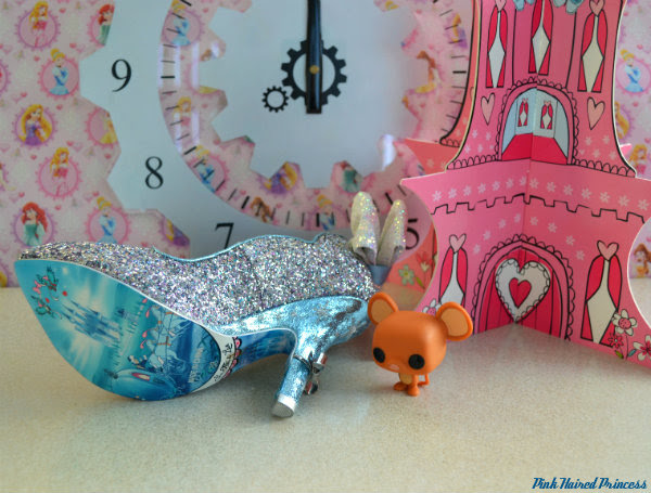 irregular choice sparkling slipper horse and carriage sole