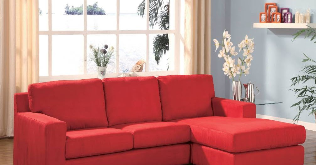 Red Couches Red Sectional Couches
