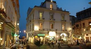 Amalfi Main Square Piazza Duomo Amalfi Coast Costiera Amalfitana