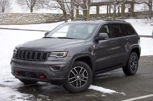 2017 Jeep Grand Cherokee Configurations