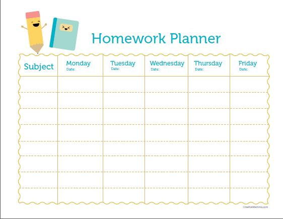 5+ College Year Planner Printable - SampleTemplatess ...