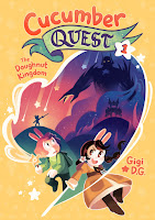 cucumber quest: the doughnut kingdom by gigi d.g. book cover