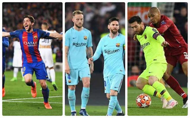 Barcelona vỡ vụn vì Liverpool cúp C1: Những cú ngược dòng kinh hoàng
