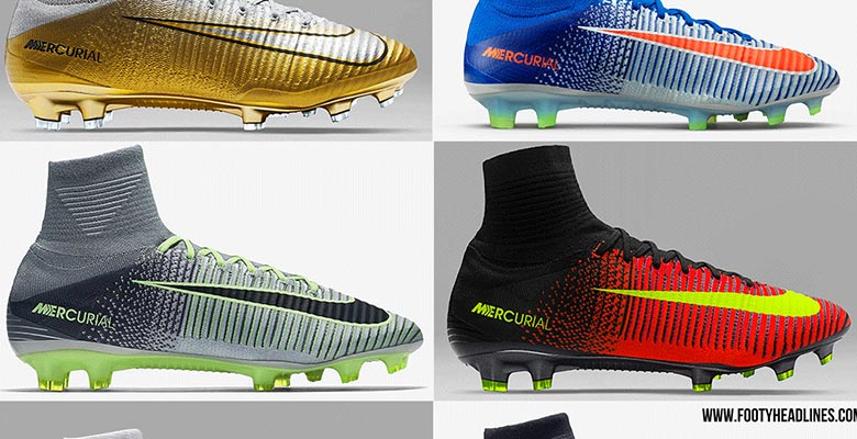 a6c2630e42ee Next Generation Next Month - Here Are All Nike Mercurial Superfly 5 Boot  Editions