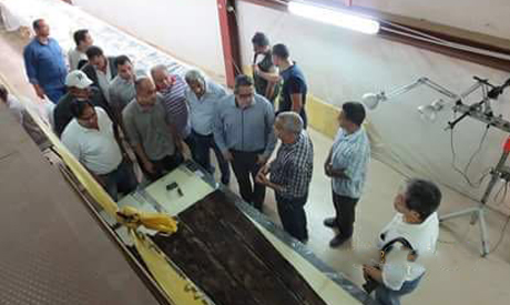 Captain's shrine of King Khufu's second solar boat discovered
