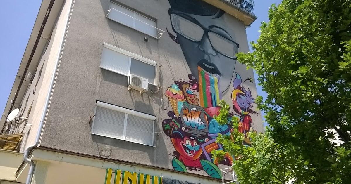 Nsinfo novi sad bogatiji za jo jedan mural lan ana for Mural u vukovarskoj ulici