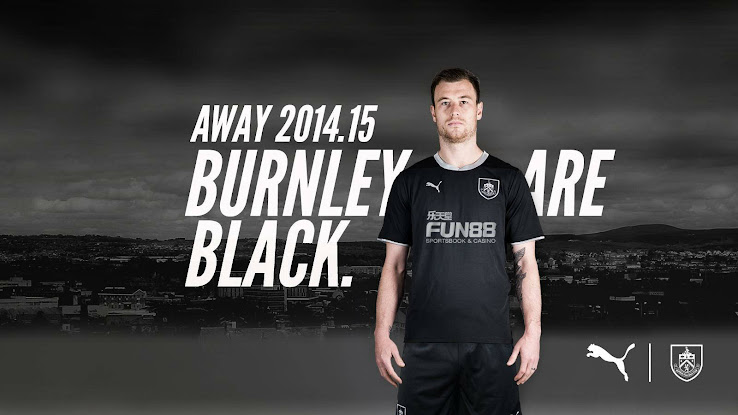 New Burnley 2014-2015 Season Home and Away Kits Released