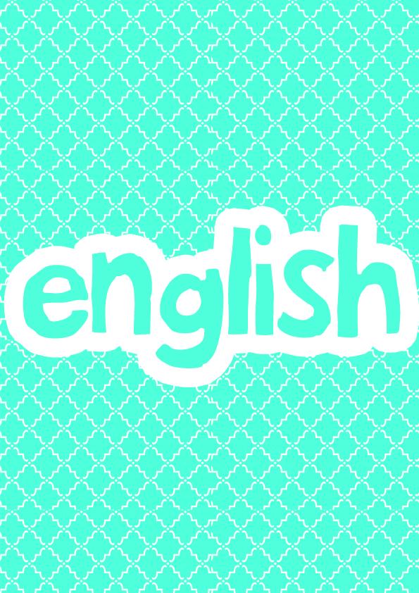 ملف انجاز انجليزي