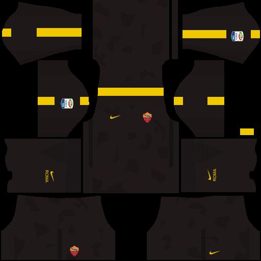equipacion de la roma para dream league soccer 2018