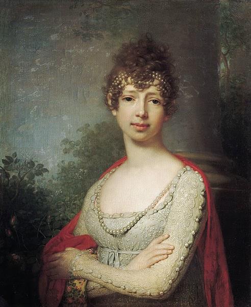 Grand Duchess Maria Pavlovna of Russia by Vladimir Borovikovsky