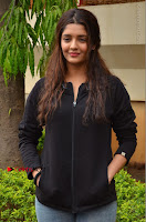 Actress Ritika Singh Stills at Guru Movie Success meet  0053.JPG