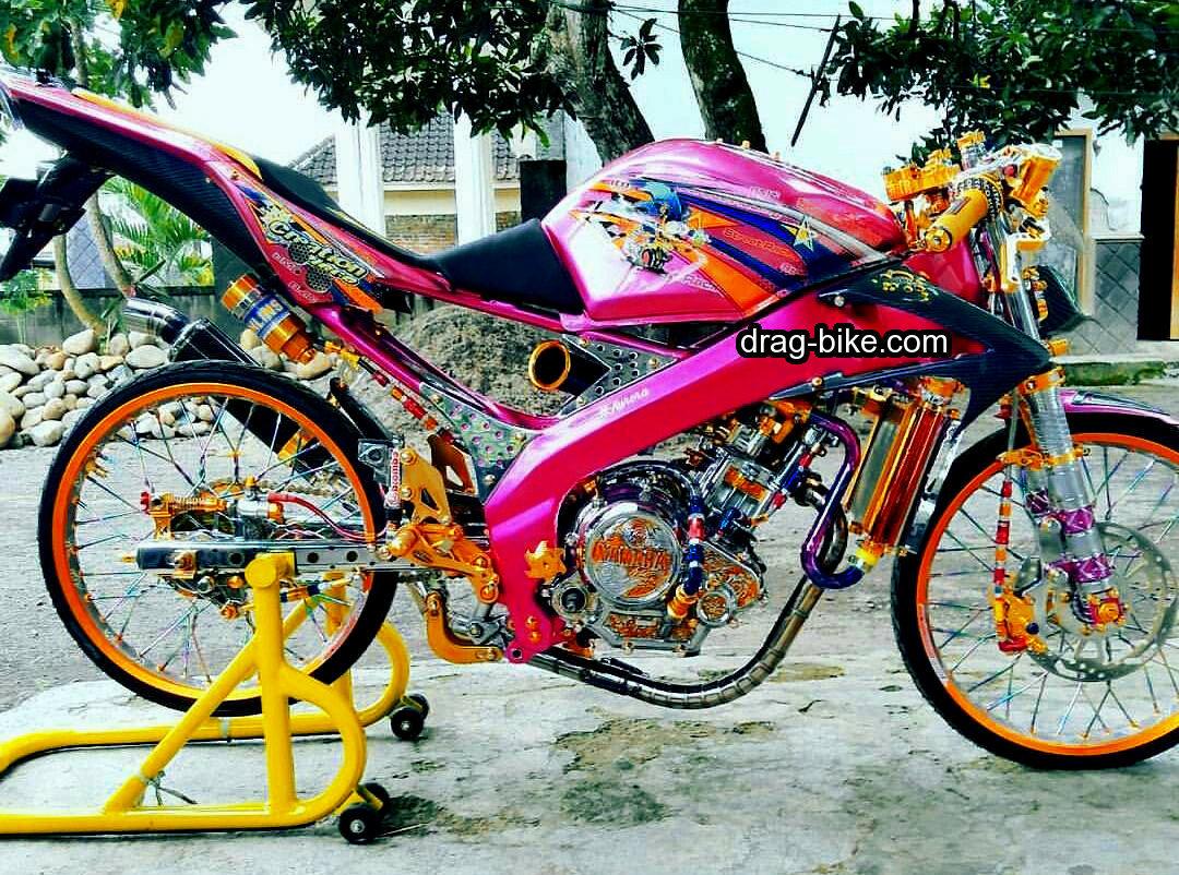 51 Foto Gambar Modifikasi Motor Yamaha Vixion Kontes Yang