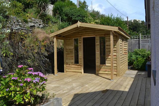 Cedar and pine garden studio