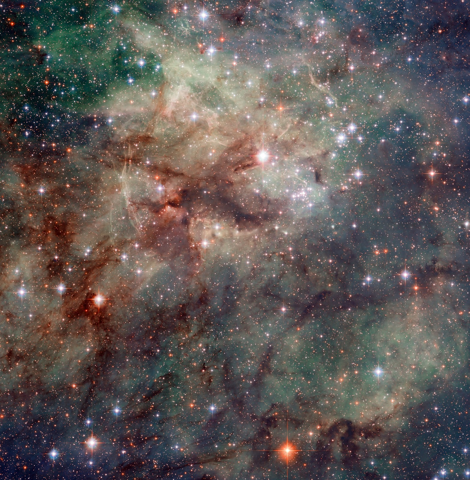 Hubble snaps close-up of the Tarantula Nebula | Earth Blog