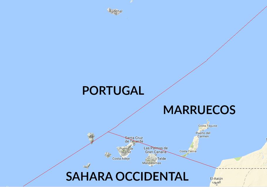 País más cercano a Canarias
