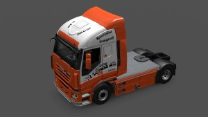 FAB White Skin for Iveco Strails