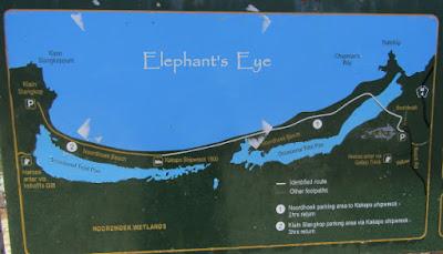 Map of Noordhoek beach