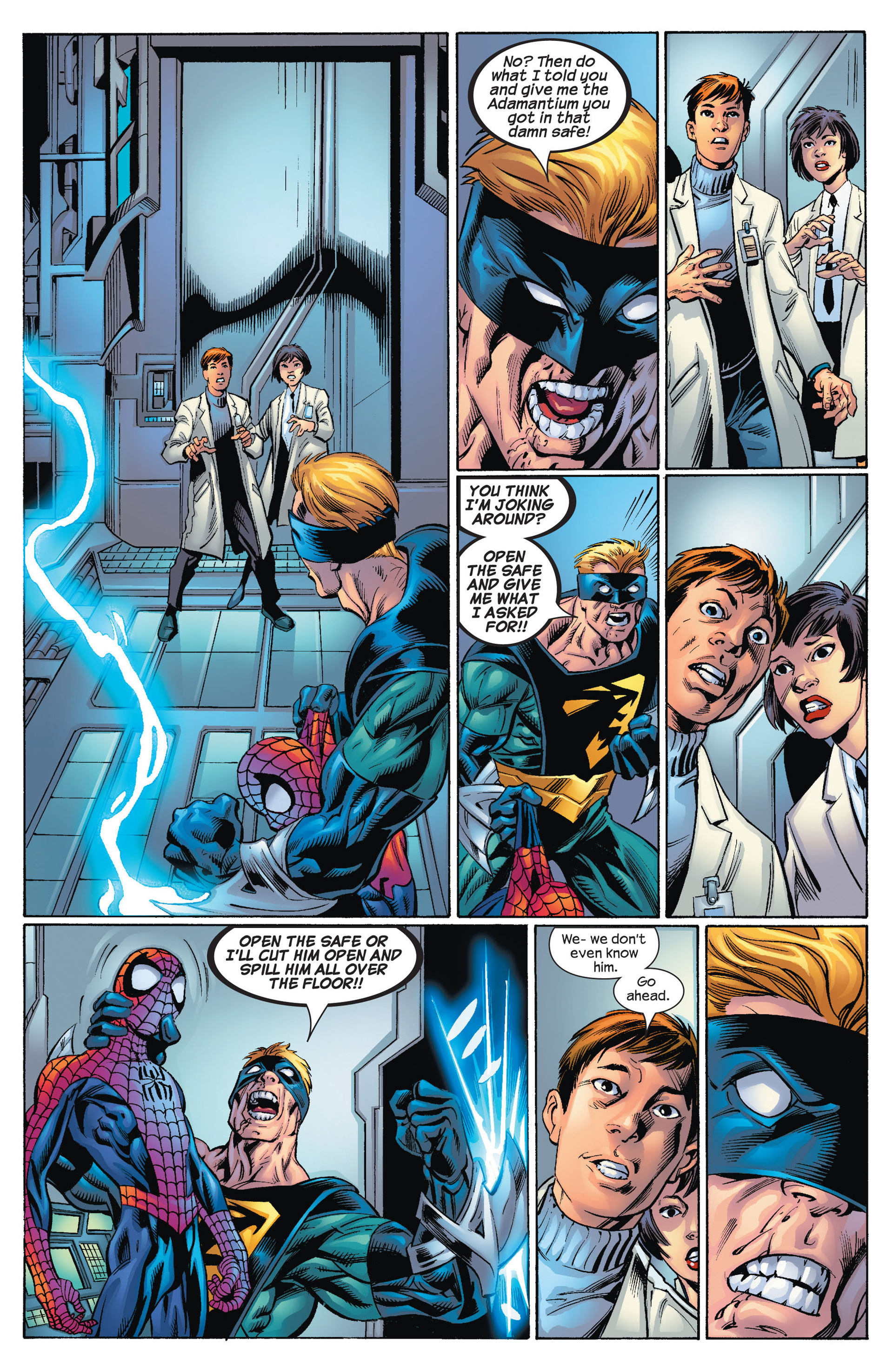 Read online Ultimate Spider-Man (2000) comic -  Issue #72 - 11