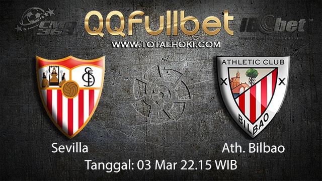 BOLA 88 - PREDIKSI TARUHAN BOLA SEVILLA VS ATH. BILBAO 3 MARET 2018 ( SPANISH LA LIGA )