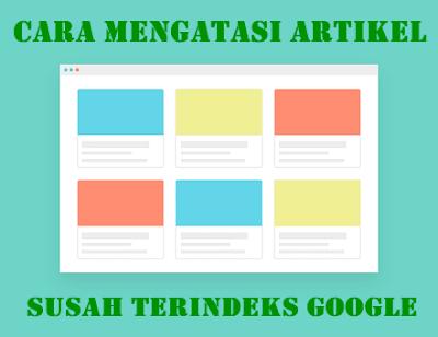 Cara Mengatasi Blog susah terdeteksi oleh Google