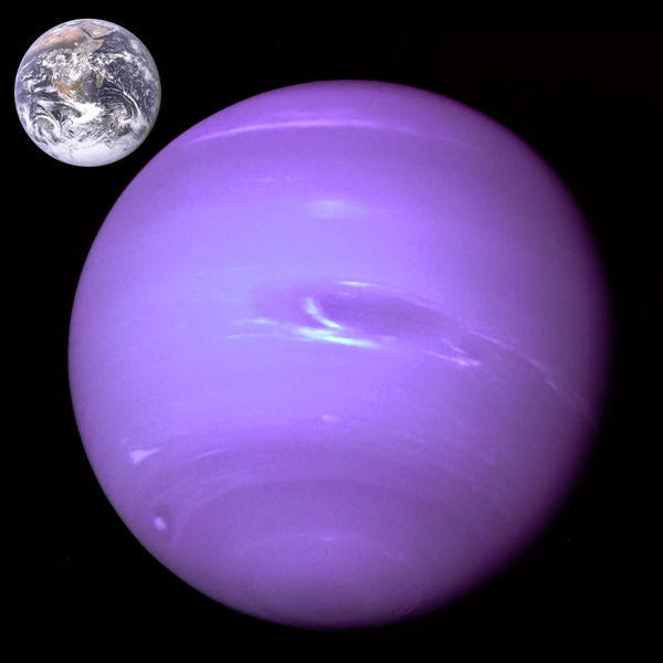 neptune compared to other planets - photo #11