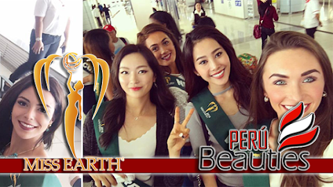 MISS EARTH 2016 | Candidatas ya se encuentran en Filipinas