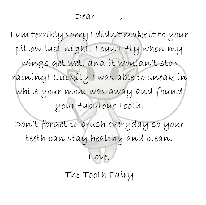 What I Live For When The Tooth Fairy Doesn T Come