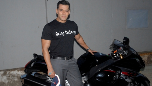 salman khan sports bike
