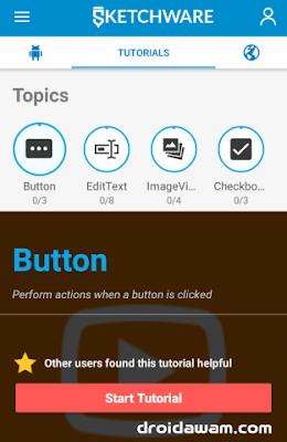 Buat Aplikasi Lewat Android Tanpa Coding (Drag and Drop)
