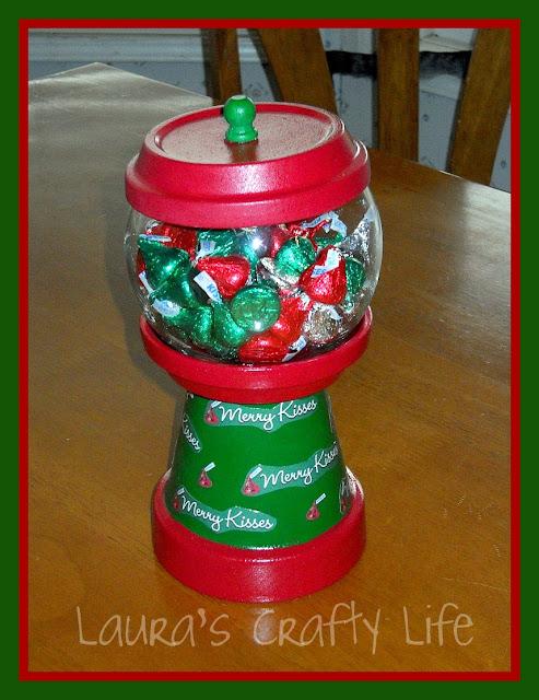 Christmas Candy Dish Craft