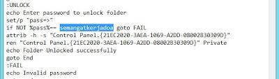 Privasi sebuah file folder bagi sebagian orang dirasa perlu alasannya yakni dianggap sebagai sebua Cara Mengunci Folder di Laptop / Komputer Beserta Gambarnya