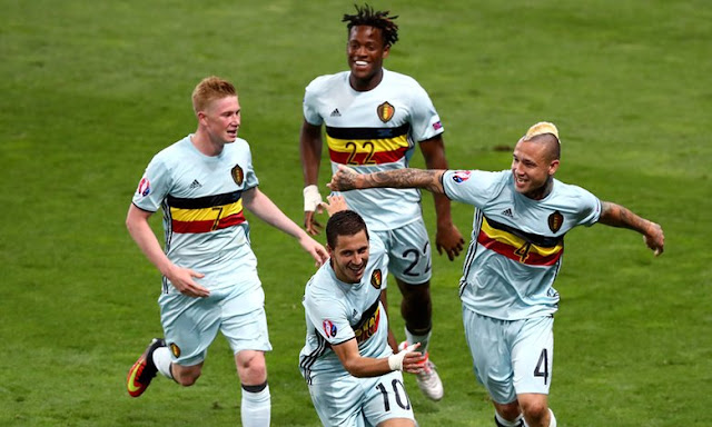 Hungary vs Belgium 0-4 at UEFA Euro 2016 Goals Highlight