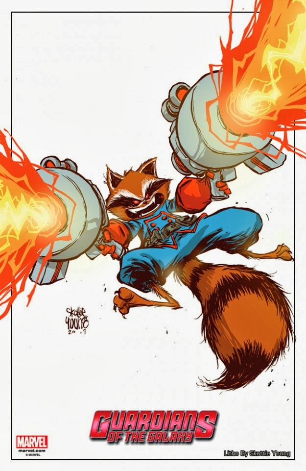 The Blot Says Nycc 13 Exclusive Rocket Raccoon Plush