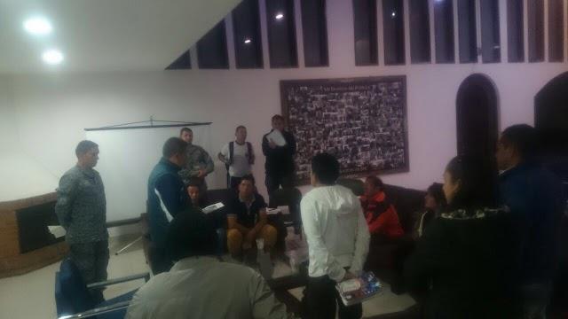 Base Aérea de Madrid congrega a líderes comunitarios del municipio