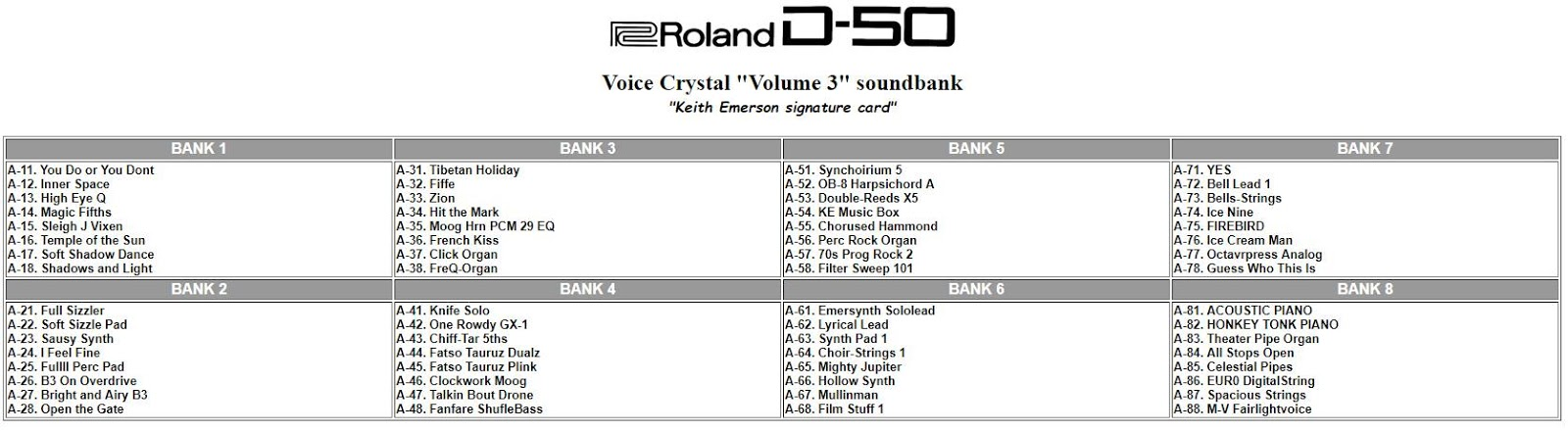MATRIXSYNTH: Roland D-50 Voice Crystal