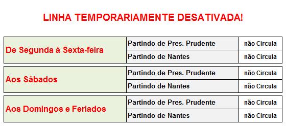 Jandaia Horarios Nantes