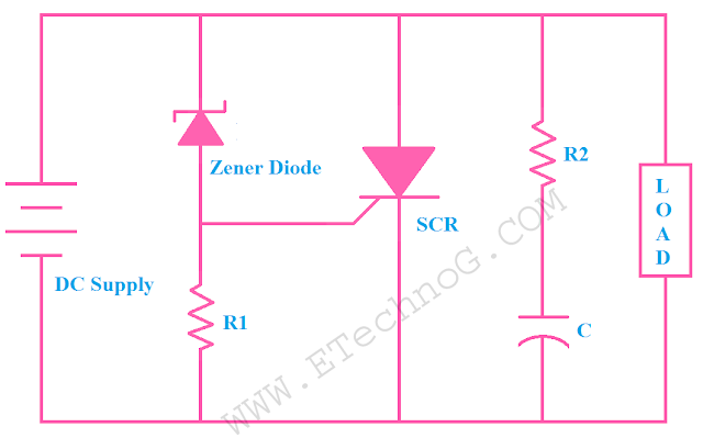 Crowbar Circuit, SCR application in overvoltage protection