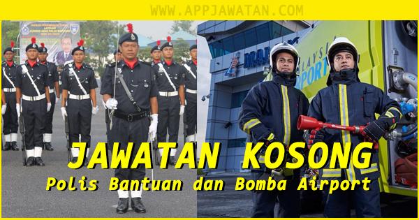 Temuduga Terbuka di Polis Bantuan dan Airport Fire & Rescue Services (AFRS)