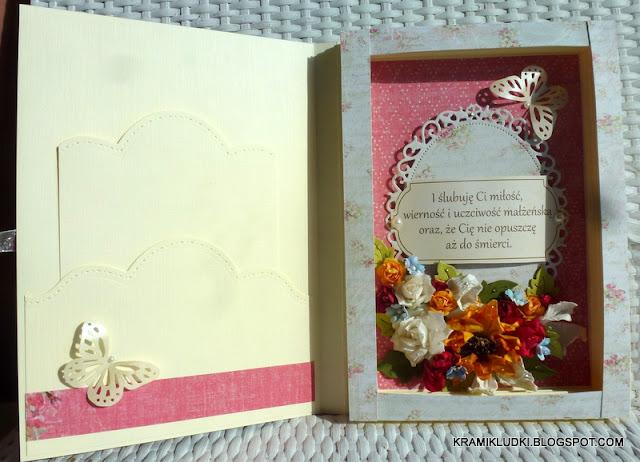 Kartka księga ślubna