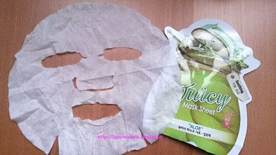 Skin18.com: Juicy Mask Sheet Aloe Holika Holika