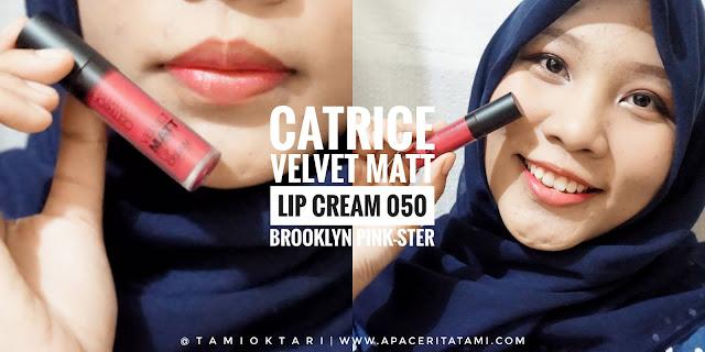 [REVIEW] Catrice Velvet Matt Lip Cream 050 Brooklyn Pink-Ster