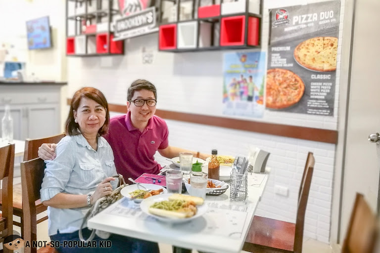 Renz Cheng in Brooklyn's in Robinsons Manila